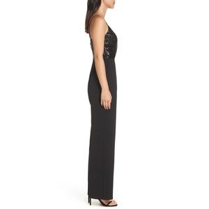 Eliza J Pants & Jumpsuits - Eliza J Black Sequin Jumpsuit